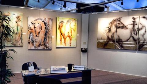 Donna Bernstein art sculptures hamptons horses animals inspiration artist