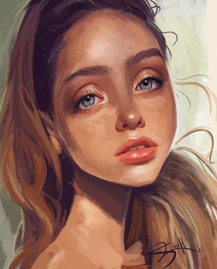Nicole Steffes Art Visual Development artist digital painting portrait