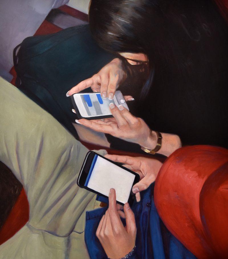 art painting artist oil social media people technology maria jimenez