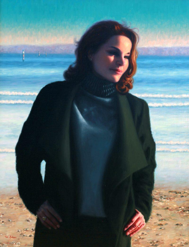 painting oil artist art Vicky Sullivan realism realistic portraits people