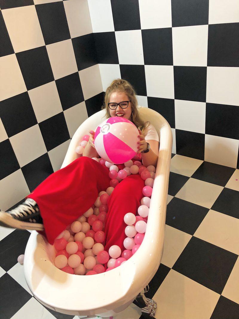 Girl Fun Woman Portrait Pink