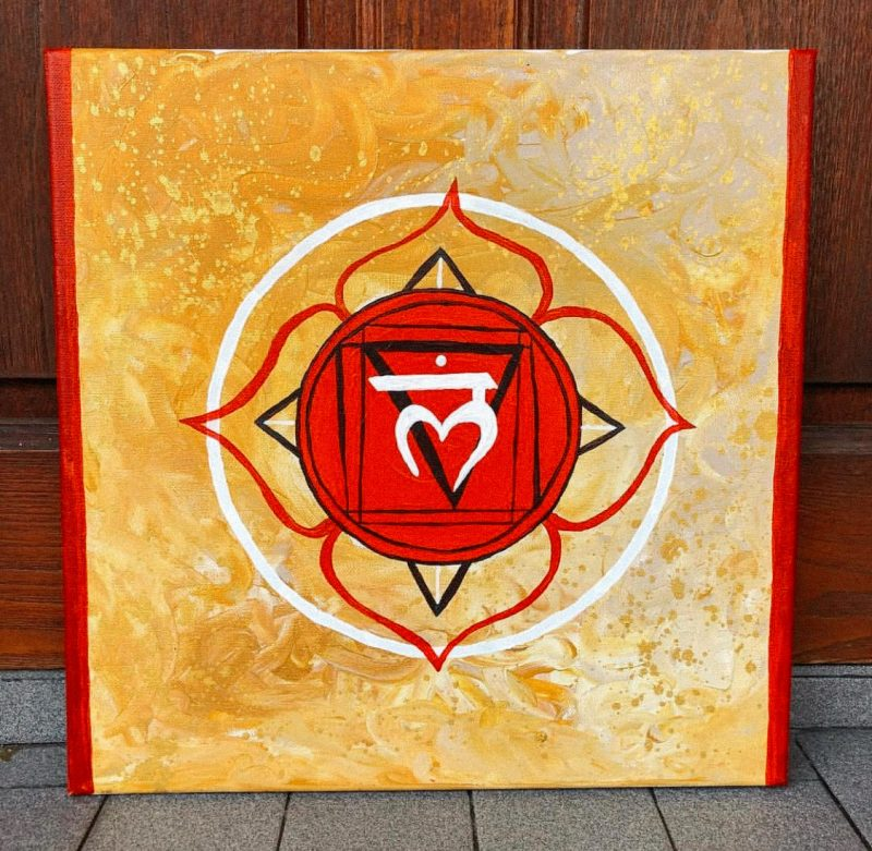 Art artist Samantha Marion Color Painting Paintings Mandala